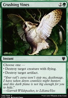- Ixalan Common 4 x Crushing Canopy 183//279
