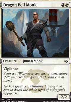 Monk Token Fate Reforged prowess