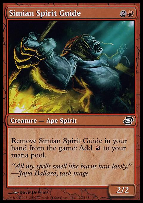1x Simian Spirit Guide MTG Masters 25 NM Magic Regular