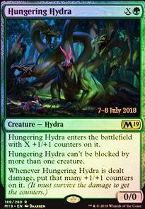PHYREXIAN HYDRA Mirrodin Besieged MTG Green Creature — Hydra RARE